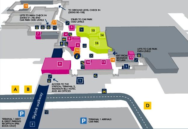 Manchester Airport Car Parking Terminal  Meet Greet