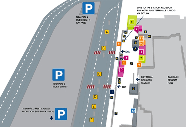 Manchester Airport Multi Storey Car Parking