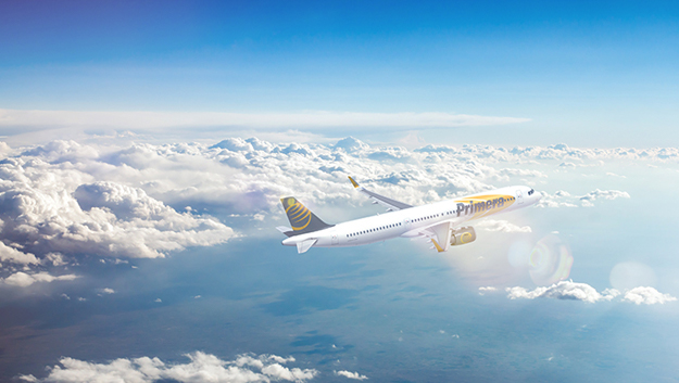 Fly from London Stansted Airport to the US with Primera Air