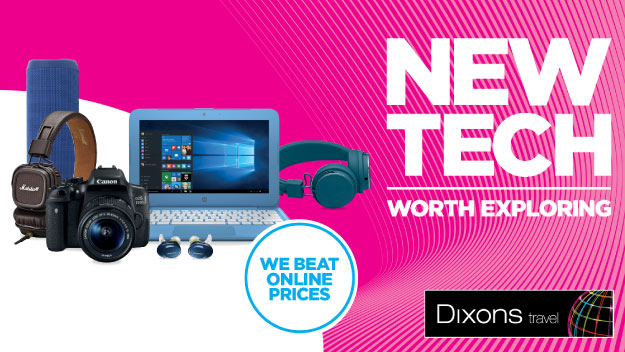 Save on the big brands with Dixons Travel