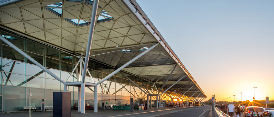 London Stansted Airport terminal building