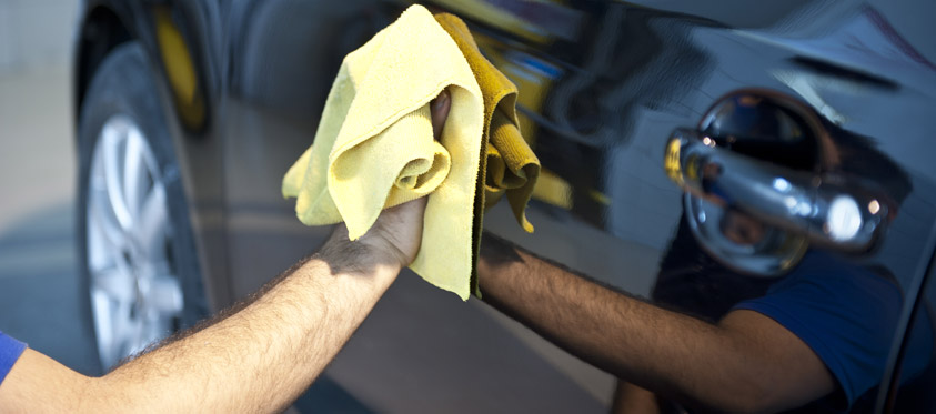 Valet car cleaning service at Manchester Airport Meet & Greet