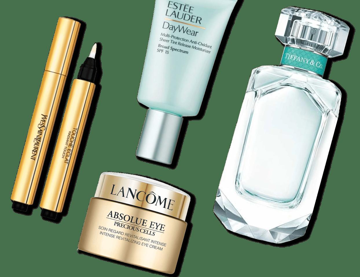 Luxury beauty brands