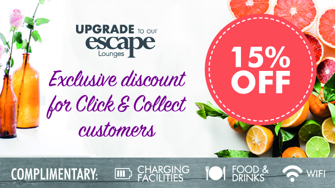 Escape Lounge Offer