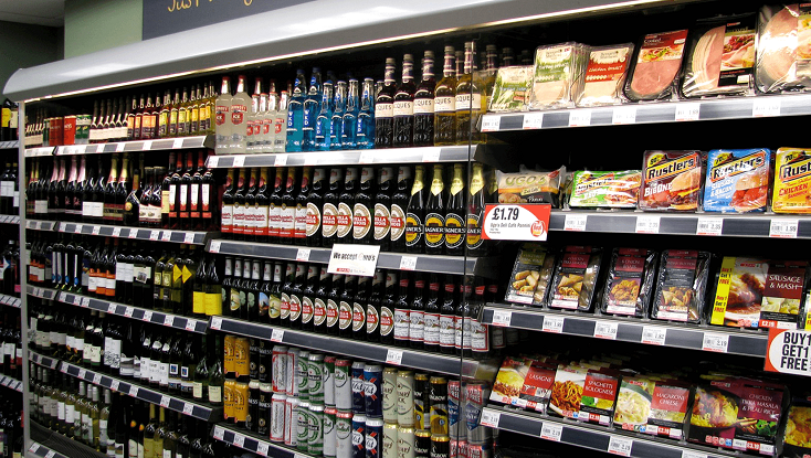 Spar Food Drink Convenience Store Manchester Airport