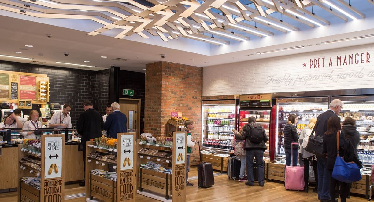 Pret London Stansted Airport