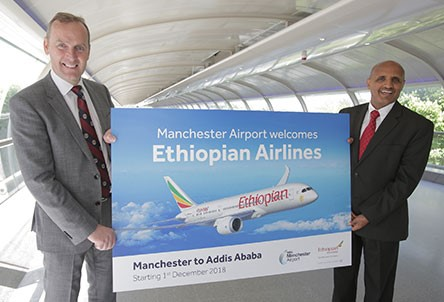 Ethiopian Airlines announce new route to Addis Ababa