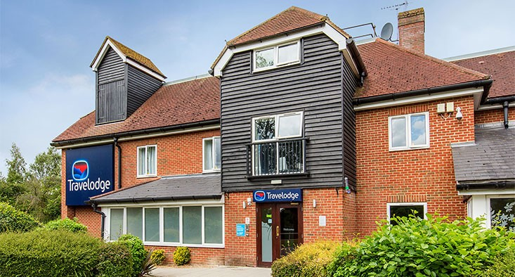 Travelodge hotel near London Stansted Airport