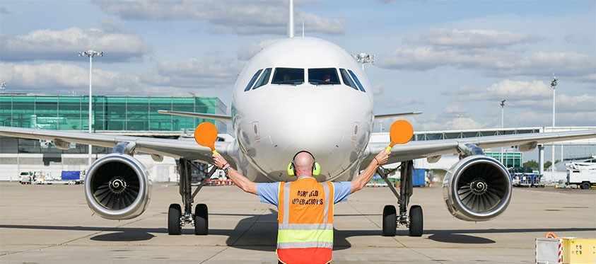 Airfield operations at London Stansted