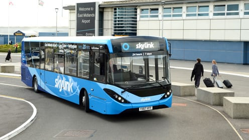 Travelling to East Midlands Airport by Bus | East Midlands Airport