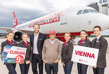 Laudamotion launches route to Vienna