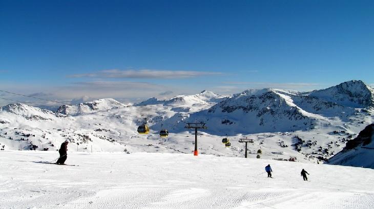 Skiing in Salzburg