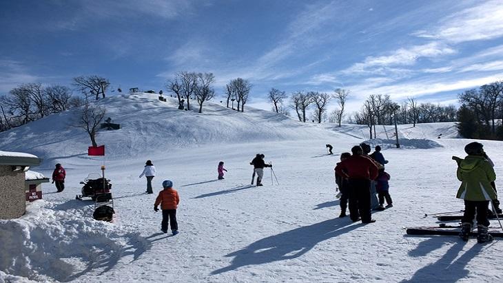 Skiing in Morillon