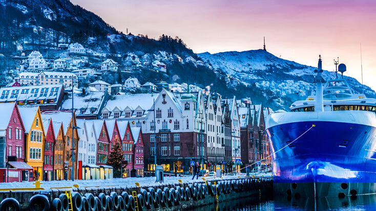 Norwegian flights to Bergen