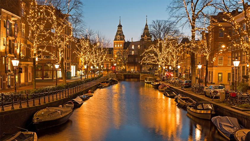 Foto Di Amsterdam A Natale.European Christmas Market Destinations East Midlands Airport