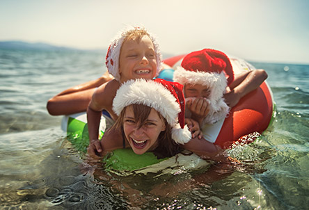Christmas holidays for families