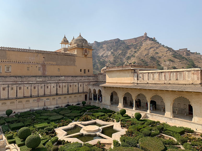 Amer Fort, built in 1532