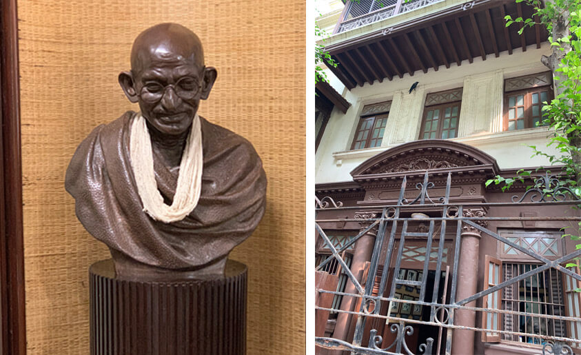 Ghandi's house in Mumbai