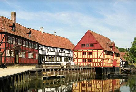 New route to Aarhus, Denmark