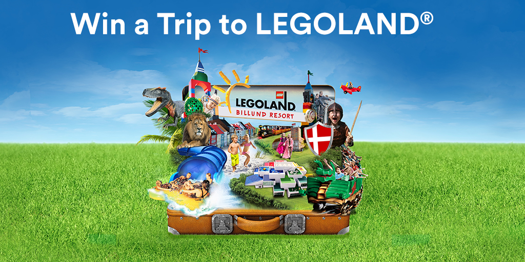 Win a trip to Legoland!