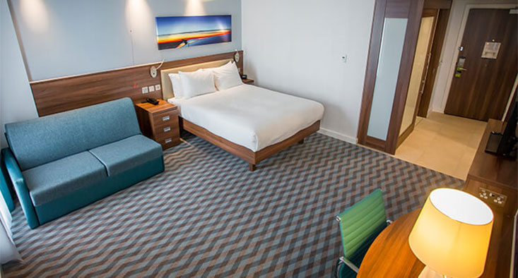 Hampton by Hilton Hotel at London Stansted Airport