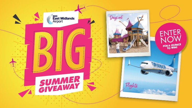 East Midlands Airport Summer Giveaway