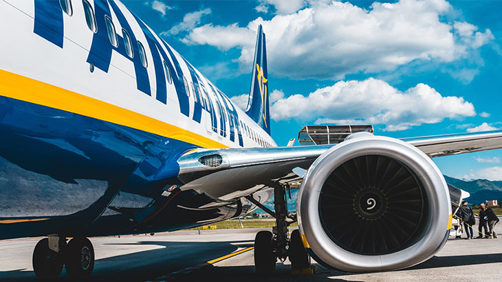 2 return tickets from EMA with Ryanair