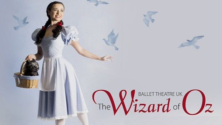 A Pair Of Tickets To The Wizard Of Oz At The Ballet Theatre