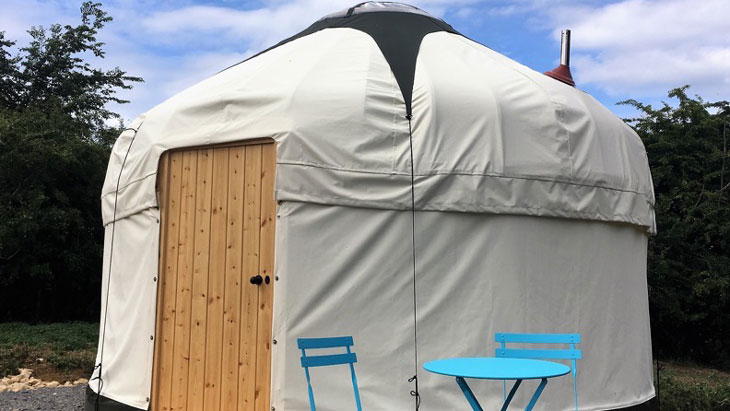 A Two Night Stay In A 2-Person Puddleduck Yurt