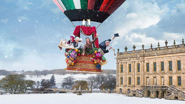 A Family Visit To Chatsworth