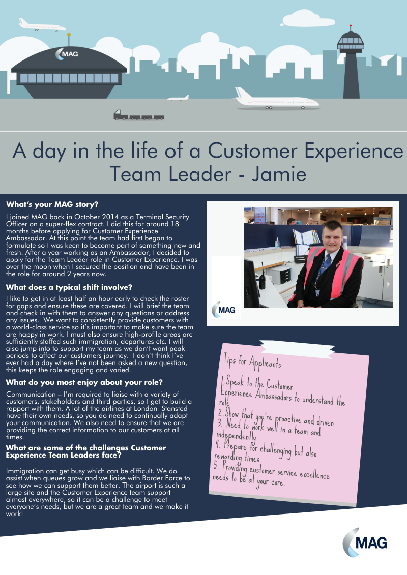 Customer Experience Team Leader