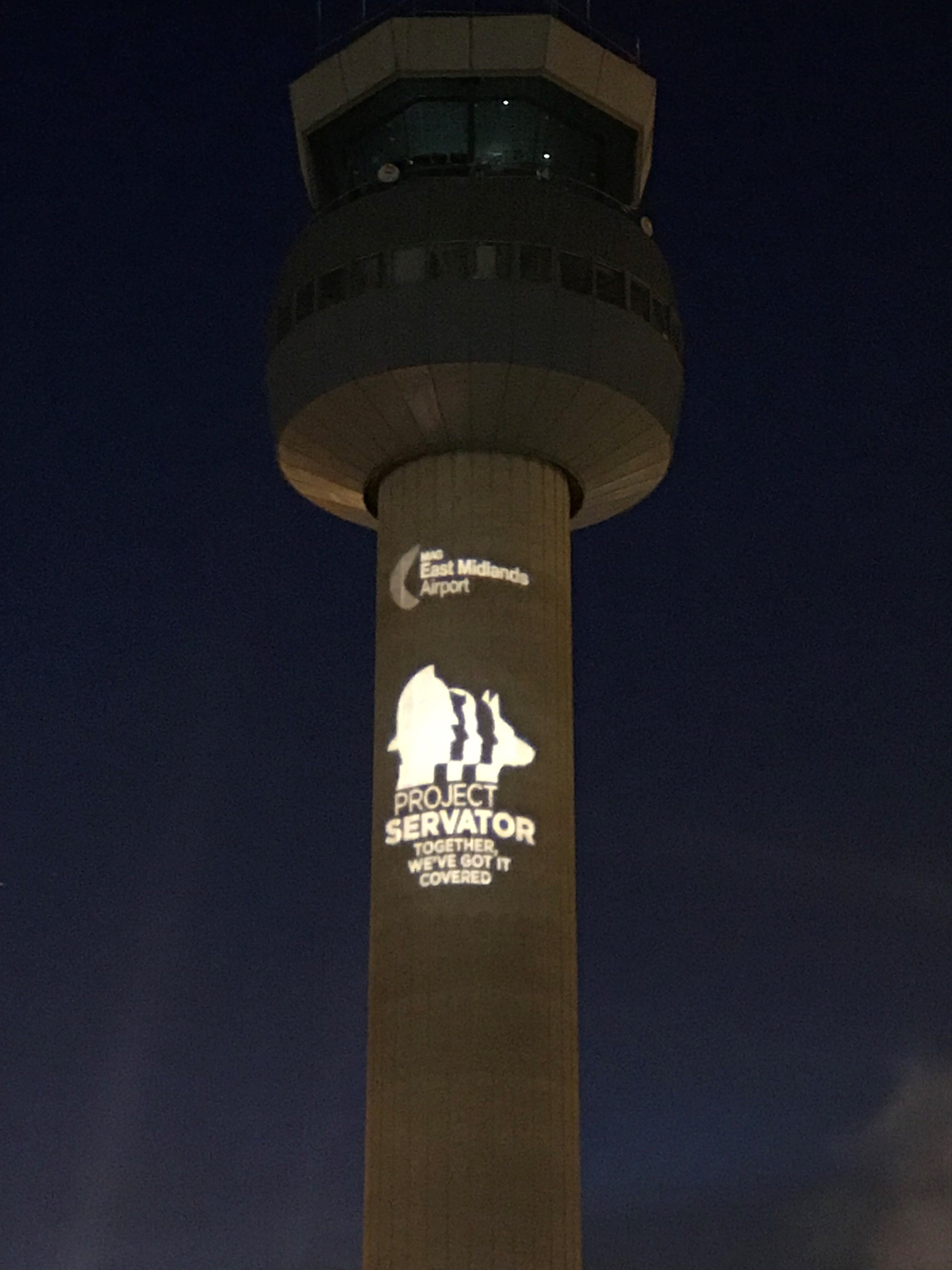 East Midlands Airport Project Servator Tower